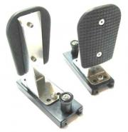 Kayak fixed foot pedals